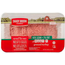 Shady Brook Farms Lean Ground Turkey (5 lbs.)