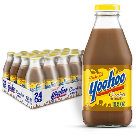 Yoo-hoo Chocolate Drink (15.5 oz. glass bottles, 24 pk.)