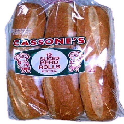 Cassone's Sliced Hero Rolls (28 oz., 12 ct.)