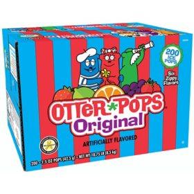 Otter Pops Plus Juice Bars (1.5 oz., 200 ct.)