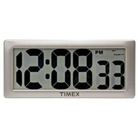 """Timex 13.5"""" Timex Intelli-Time Extra-Large Digital Clock"""