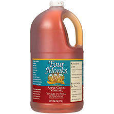 Four Monks Apple Cider Vinegar - 1 gal.