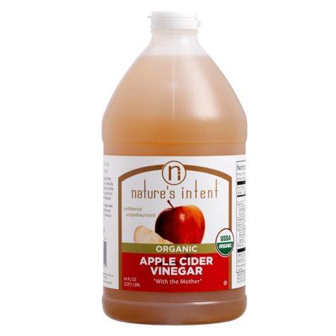 Nature's Intent Organic Apple Cider Vinegar (2 qts.)