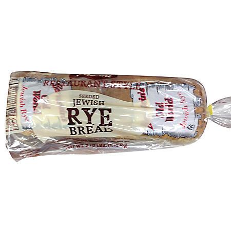 Fantini Bakery Seeded Jewish Rye Bread (40 oz.)