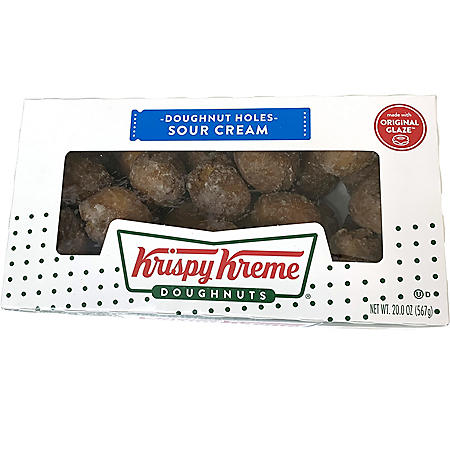 Krispy Kreme Sour Cream Doughnut Holes (20 oz.)