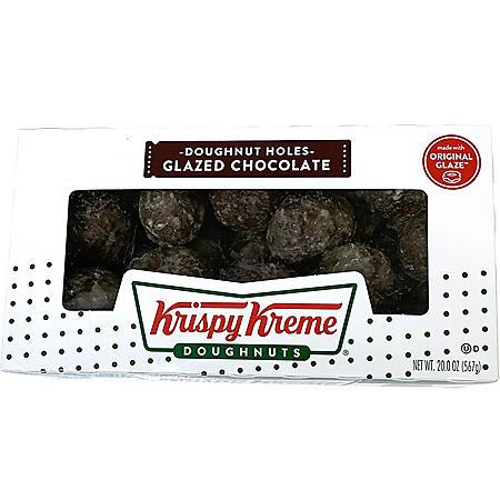 Krispy Kreme Chocolate Cake Doughnut Holes (22 oz.)