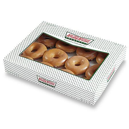 Krispy Kreme Original Glazed, Chocolate Iced Glazed or Combination- 12 ct.