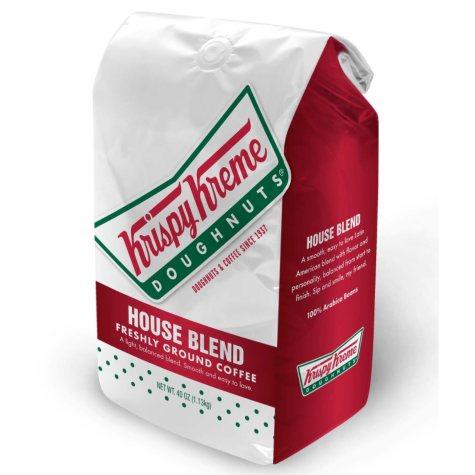Krispy Kreme Ground Coffee, House Blend (2.5 lb.)