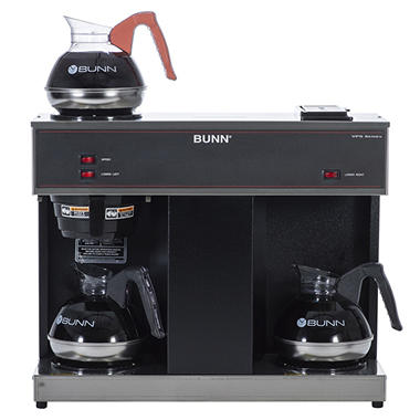 bunn vps commercial pourover brewer with 3 warmers - Commercial Coffee Maker