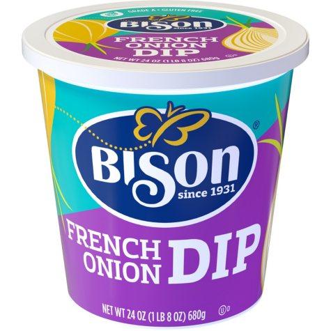 BISON FRENCH ONION DIP 24 OZ