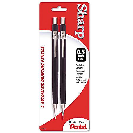 Pentel - Sharp Automatic Pencil, 0.5 mm -  2/Pack