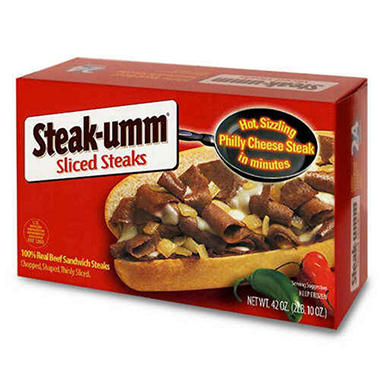 Steak-umm® Sliced Steaks - 42 oz.