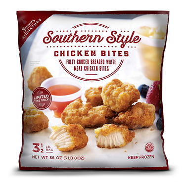 Simmons Signature Southern Style Chicken Bites 35 Lb Sams Club