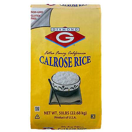 Diamond G Calrose Rice (50 lbs.)