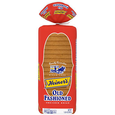 Heiner's Old Fashioned Enriched Bread (20 oz., 2 ct.)