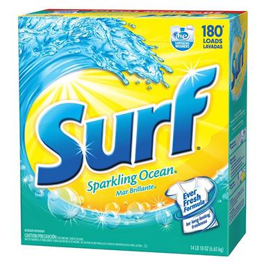 surf sparking he ocean laundry detergent 234 oz 180 loads