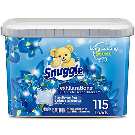 Snuggle Scent Boosters, Blue Iris Bliss (115 ct.)