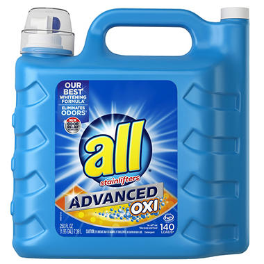 all Advanced OXI with Stainlifters (140 loads, 250 oz.)