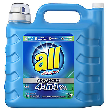 all Advanced 4-in-1 (150 loads., 255 oz.)