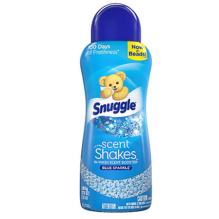 Snuggle Scent Shakes In-Wash Scent Booster Beads, Blue Sparkle (37.6 oz.)