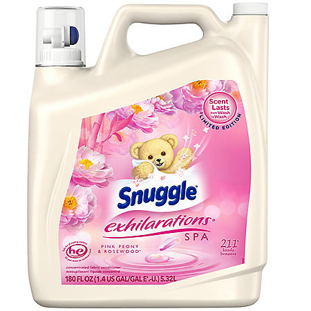 Snuggle Pink Peony (180 oz., 211 loads)