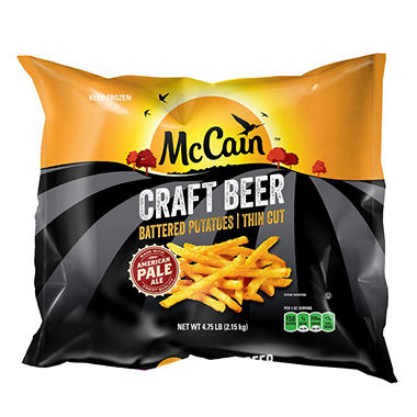 McCain Craft Beer Battered Fries (4.75 lbs.)