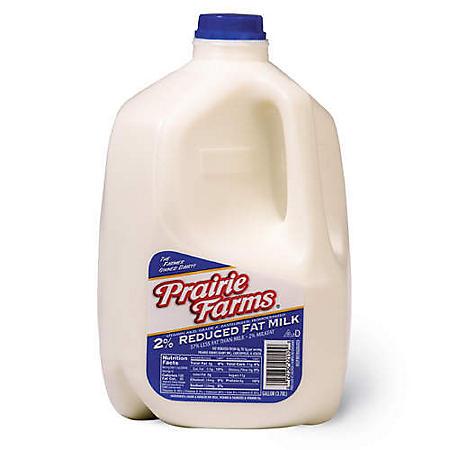 Prairie Farms 2% Reduced Fat Milk (1 gal.)