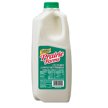 Prairie Farm 1% Buttermilk (1/2 Gallon)
