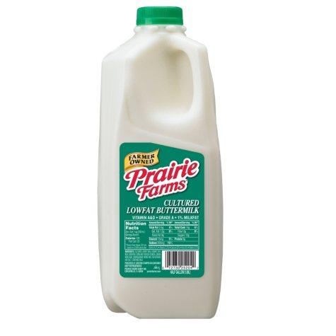 Prairie Farm 1% Buttermilk (1/2 Gallon)
