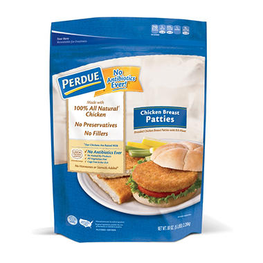 Perdue Breaded Chicken Breast Patties (5 lb.)
