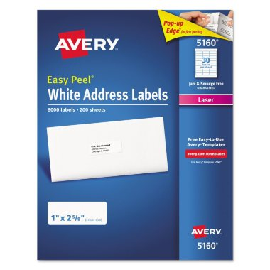 5160 avery label