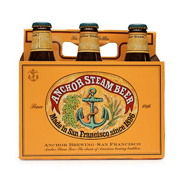 Anchor Steam Beer (12 fl. oz. bottle, 6 pk.)