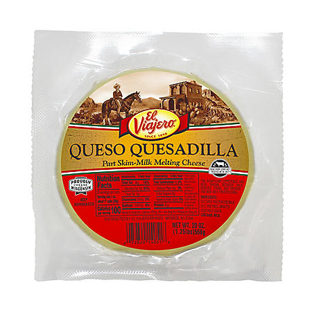 El Viajero Quesadilla (20 oz.)
