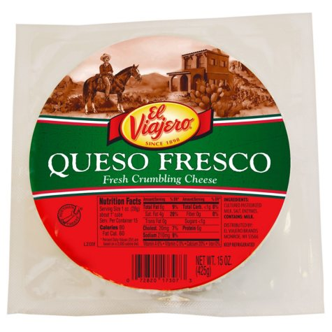 El Viajero Queso Fresco Cheese (15 oz.)