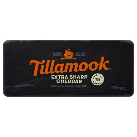 Tillamook Special Reserve Extra Sharp Cheddar (2 lbs.)