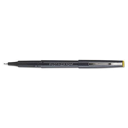 Pilot .3mm Razor Point Marker Pen, Black (Ultra-Fine, 12 ct.)