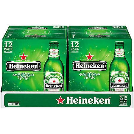 HEINEKEN 24 / 12 OZ BOTTLES
