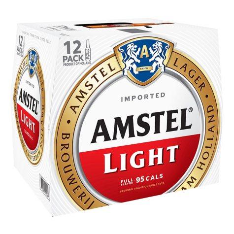 AMSTEL LIGHT 12 / 12 OZ BOTTLES