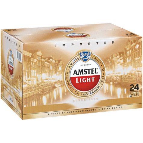 Amstel Light Premium Lager (12 fl. oz. bottle, 24 pk.)