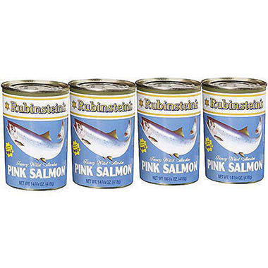 Rubinstein's Pink Salmon - 4/14.75oz