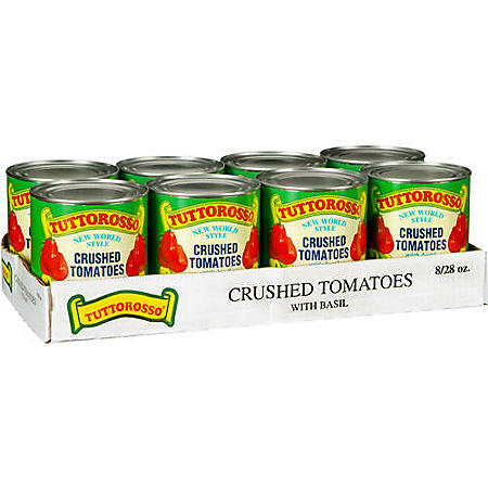 Tuttorosso Crushed Tomatoes with Basil (28 oz., 8 pk.)
