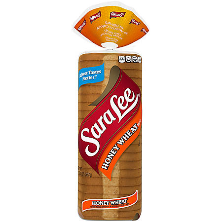 Sara Lee Honey Wheat Bread (20oz / 2pk)