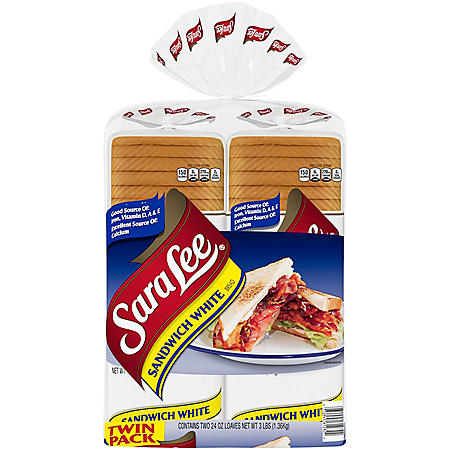 Sara Lee Sandwich White Bread (24oz / 2pk)