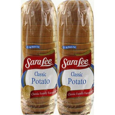 Sara Lee Classic Potato Bread - 2 pk.