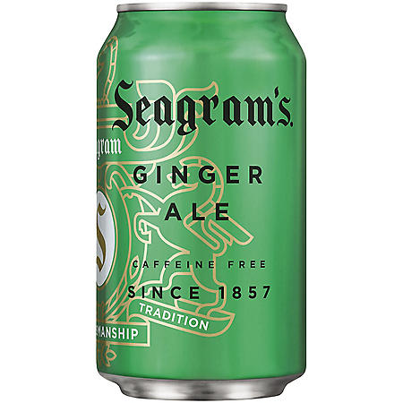 Seagram's Ginger Ale (12 oz. cans, 24 pk.)