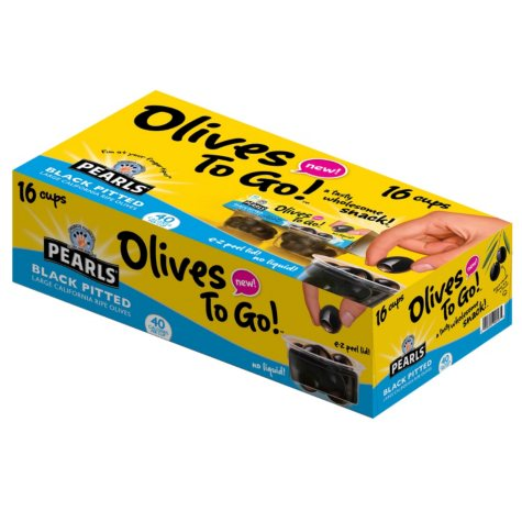 Pearls Olives To Go (1.2 oz., 16 pk.)