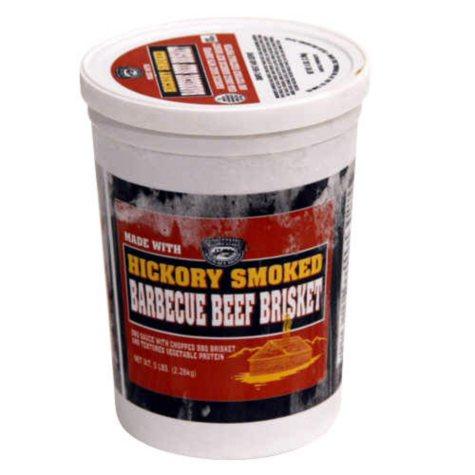 Hickory Smoked BBQ Beef - 5 lb. tub
