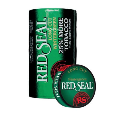 Red Seal Long Cut Wintergreen (5-can roll)