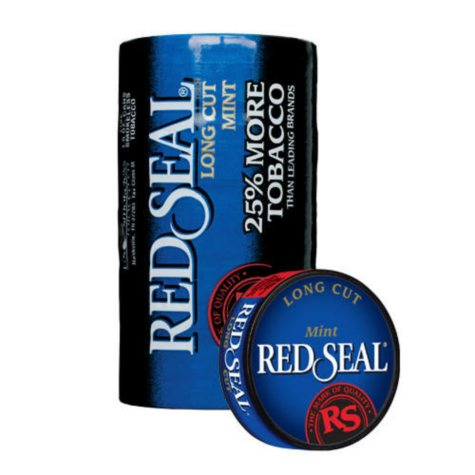 Red Seal Long Cut Mint (5-can roll)