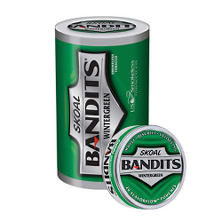 Skoal Bandits Pouches, Wintergreen (5-can roll)